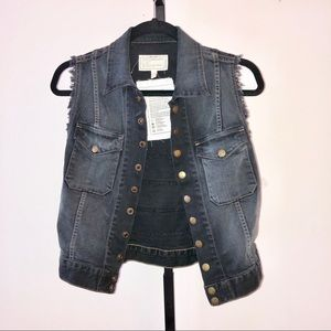 Current/Elliot Jean Jacket Vest
